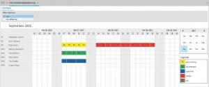 TimeLine-ERP-Personaleinsatzplanung