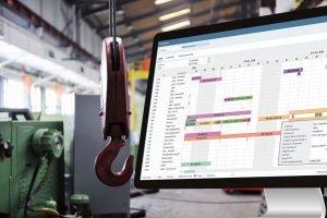 TimeLine-ERP-Produktion