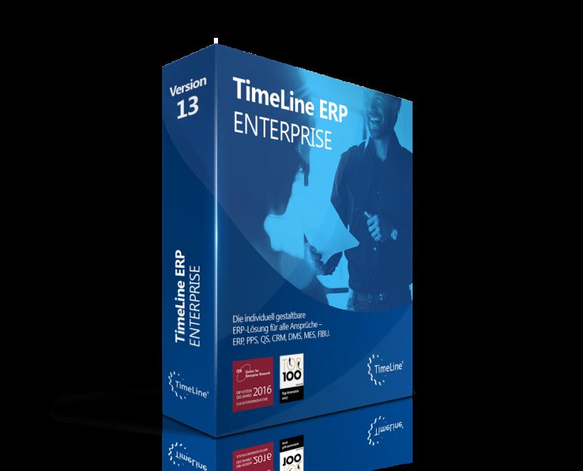 Softwarebox von TimeLine Enterprise